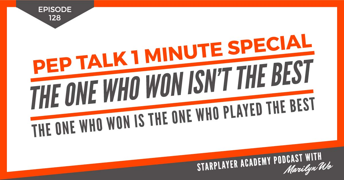 PTOMS128: The One Who Won isn't the Best. The One Who Won is the One Who Played the Best