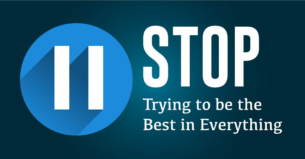 138: Stop Trying to be the Best in Everything and Start Filtering Your Training Programs